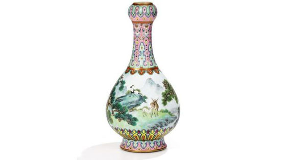 صورة رقم 5 - مزهرية صينية في علبة أحذية بملايين الدولارات... بالصور