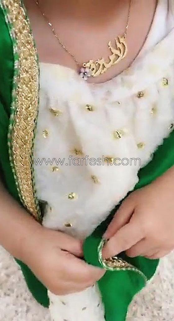 مريم حسين على خطى دنيا بطمة: تنشر فيديو طفلتها بالزي المغربي! صورة رقم 2