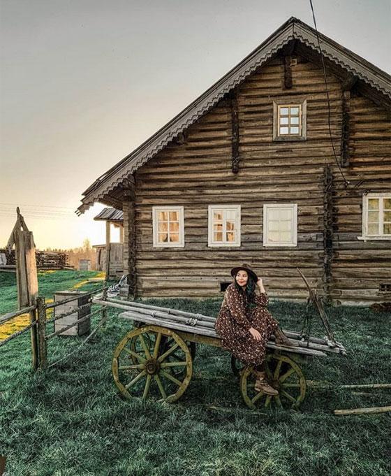 يبلغ عدد سكانها ألف شخص.. تعرفوا على أجمل قرية روسية صورة رقم 7
