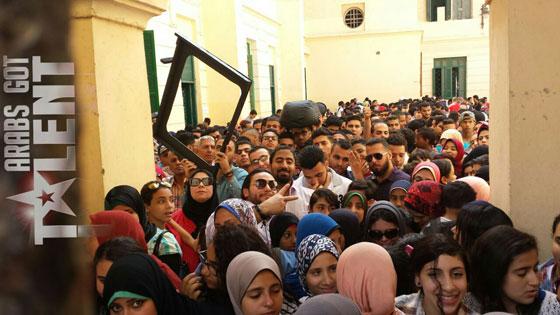 صورة رقم 3 - صور اختبارات اداء عرب غوت تالنت في تونس، المغرب، مصر، لبنان والأردن