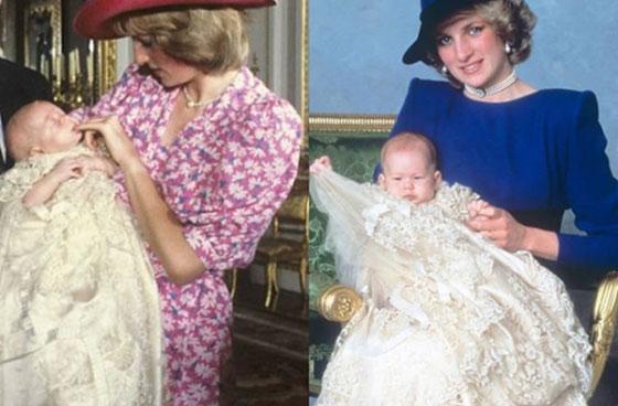 بالصور: معموديات اطفال العائلات المالكة آخرها الامير الصغير لويس ابن دوق ودوقة كامبريدج  صورة رقم 1