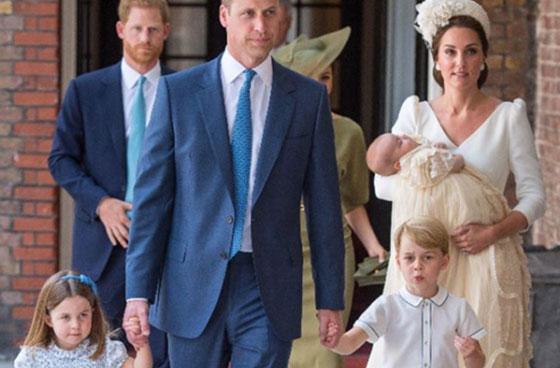 بالصور: معموديات اطفال العائلات المالكة آخرها الامير الصغير لويس ابن دوق ودوقة كامبريدج  صورة رقم 8