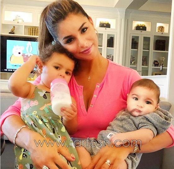 صورة ريما فقيه مع طفلتها وطفلها تثير ضجة كبيرة. شاهد الشبه بينهم صورة رقم 1