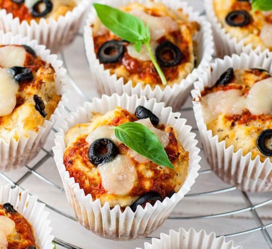 بالصور: طريقة عمل كب الكيك الجبنة وكب الكيك الجبنة والزيتون الشهية صورة رقم 16