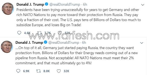 صورة قمة الناتو: كل قادة أوروبا ينظرون في اتجاه وترامب في اتجاه آخر! صورة رقم 3