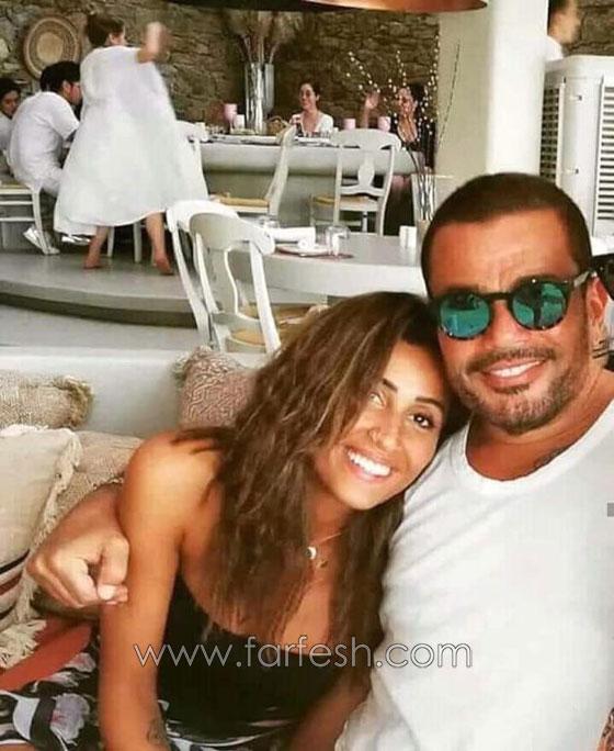 هل معقول ان يعلن عمرو دياب عن علاقة حب وصداقة مع دينا الشربيني دون زواج؟ صورة رقم 1
