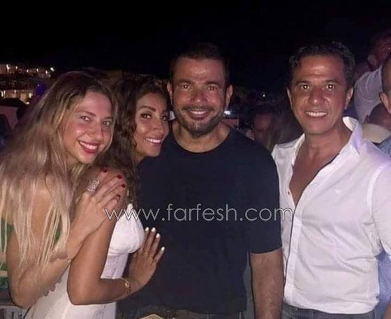 هل معقول ان يعلن عمرو دياب عن علاقة حب وصداقة مع دينا الشربيني دون زواج؟ صورة رقم 4