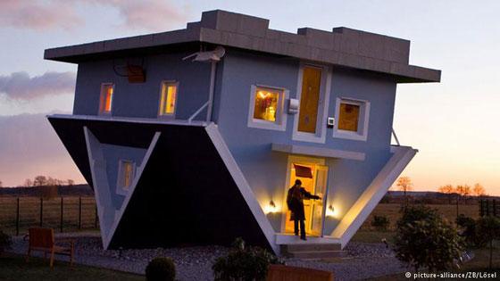 صور غريبة وعجيبة لتصاميم ستغير نظرتك إلى المنازل!! صورة رقم 1