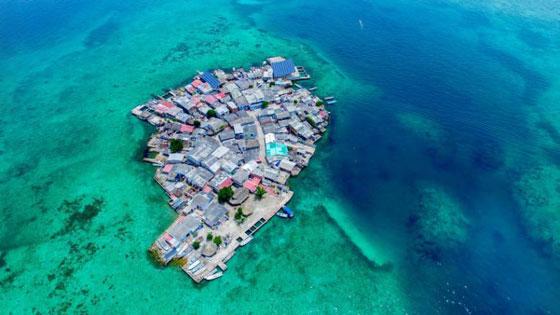 أكثر المناطق كثافة سكانية: جزيرة بحجم ملعبي كرة قدم! صورة رقم 1