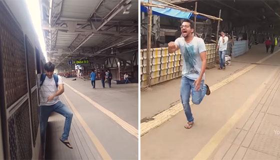 محكمة هندية تعاقب ثلاثة رجال بإلزامهم تنظيف محطة قطار بسبب تحدي كيكي! صورة رقم 2