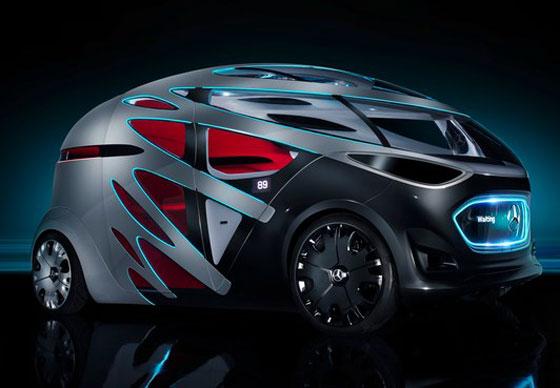 مرسيدس تستعرض سيارتها المستقبلية التي ستصبح من أهم المركبات في العالم صورة رقم 6