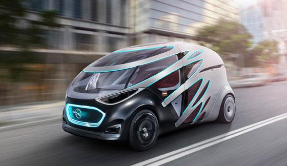 مرسيدس تستعرض سيارتها المستقبلية التي ستصبح من أهم المركبات في العالم صورة رقم 9