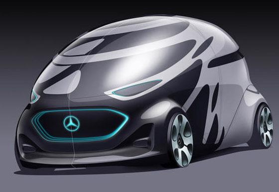 مرسيدس تستعرض سيارتها المستقبلية التي ستصبح من أهم المركبات في العالم صورة رقم 13