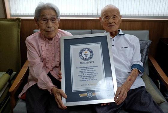 زوجان يابانيان يدخلان موسوعة غينيس لأكبر زوجان بالعالم، فما سر دوام زواجهما 80 عاما؟ صورة رقم 1