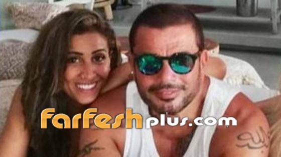 بسبب دينا الشربيني، عمرو دياب يتشاجر مع الأمن الإنجليزي! بالفيديو صورة رقم 12