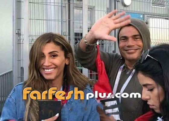 بسبب دينا الشربيني، عمرو دياب يتشاجر مع الأمن الإنجليزي! بالفيديو صورة رقم 17