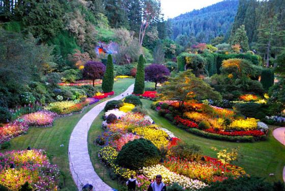 صور أروع وأجمل 10 حدائق في العالم مصممة بشكل مذهل كالخيال صورة رقم 6