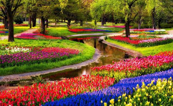 صور أروع وأجمل 10 حدائق في العالم مصممة بشكل مذهل كالخيال صورة رقم 2