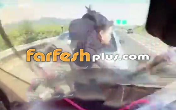 فيديو: عائلة صينية تنجو من حادث سير وتتعرض لحادث آخر خطير ومروع بعد ثوان! صورة رقم 4