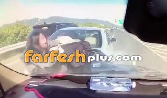 فيديو: عائلة صينية تنجو من حادث سير وتتعرض لحادث آخر خطير ومروع بعد ثوان! صورة رقم 7