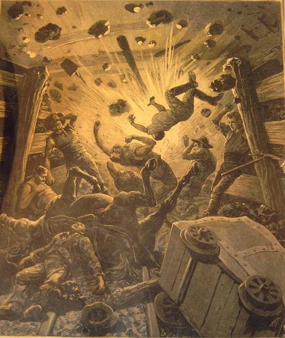 أسوأ كارثة دموية في تاريخ فرنسا.. انفجار رهيب بإحدى مناجمها أودى بحياة الآلاف صورة رقم 1