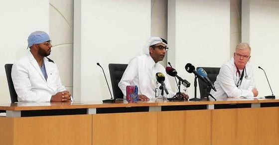 بالفيديو والصور.. نجاح أول عملية جراحية فريدة لفصل توأم ملتصق في قطر صورة رقم 11