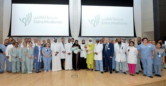 بالفيديو والصور.. نجاح أول عملية جراحية فريدة لفصل توأم ملتصق في قطر صورة رقم 1