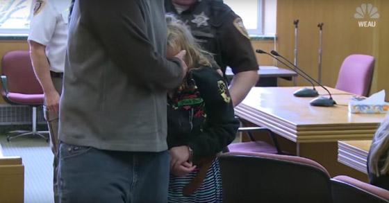 اعتقال طفلة أمريكية (10 سنوات) بتهمة قتلها لرضيع صورة رقم 3
