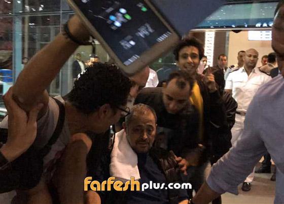فيديو جورج وسوف في مطار القاهرة على كرسي متحرك.. وهذا ما حدث  صورة رقم 3