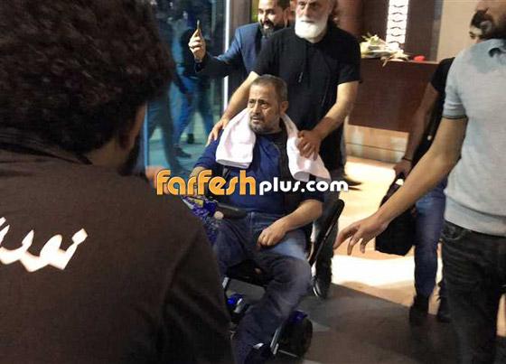 فيديو جورج وسوف في مطار القاهرة على كرسي متحرك.. وهذا ما حدث  صورة رقم 2