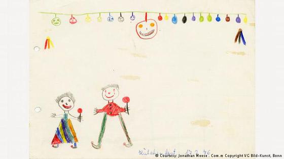 صور رسومات الطفولة لكبار الفنانين تكشف عن خيالهم وموهبتهم منذ الصغر صورة رقم 1