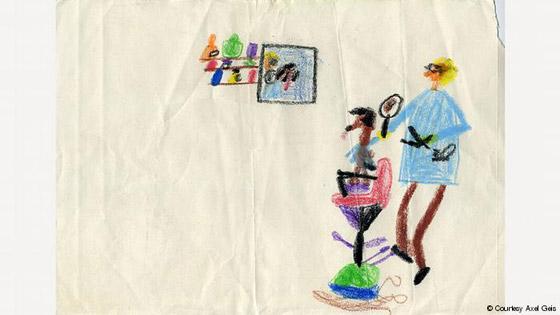 صور رسومات الطفولة لكبار الفنانين تكشف عن خيالهم وموهبتهم منذ الصغر صورة رقم 4