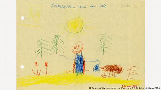 صور رسومات الطفولة لكبار الفنانين تكشف عن خيالهم وموهبتهم منذ الصغر صورة رقم 9