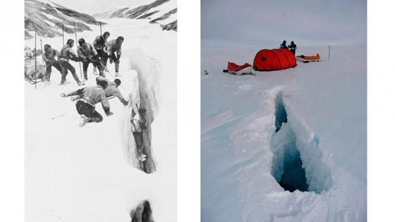 صور مدهشة لبعثات القارة القطبية الجنوبية من الماضي والحاضر صورة رقم 7
