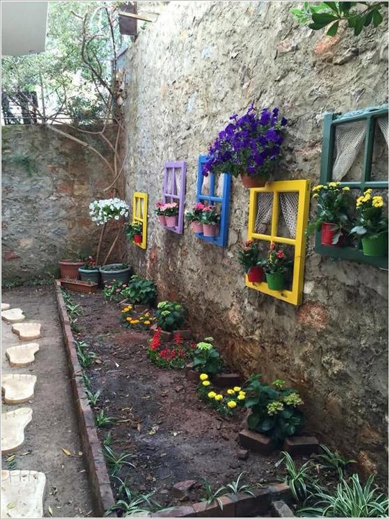 صورة رقم 3 -  أفكار مدهشة لتزيين جدران المنزل الخارجية بالنباتات