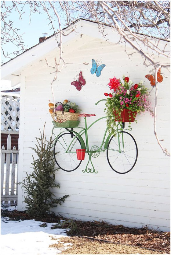 صورة رقم 5 -  أفكار مدهشة لتزيين جدران المنزل الخارجية بالنباتات