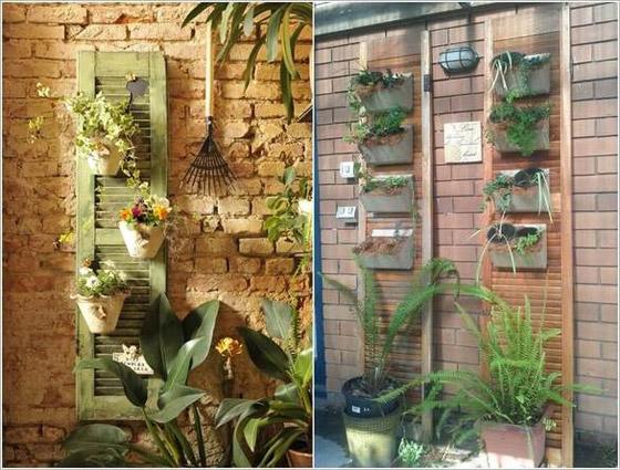 صورة رقم 6 -  أفكار مدهشة لتزيين جدران المنزل الخارجية بالنباتات