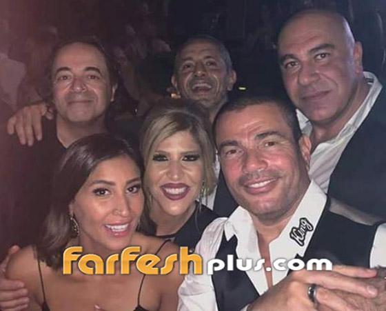 قبل الفلنتاين بأيام: دينا الشربيني تتباهى بخاتم زواجها من عمرو دياب صورة رقم 4