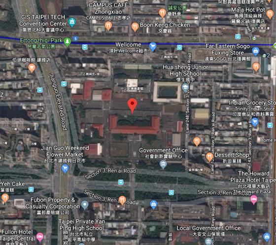 صورة رقم 4 - 10 مواقع سرية على خرائط غوغل يُحظر رؤيتها وكشفها للجميع!
