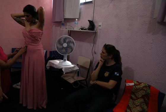 بالصور.. مسابقة ملكة جمال السجون في ريو دي جانيرو البرازيلية صورة رقم 4