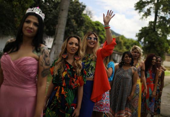 بالصور.. مسابقة ملكة جمال السجون في ريو دي جانيرو البرازيلية صورة رقم 5