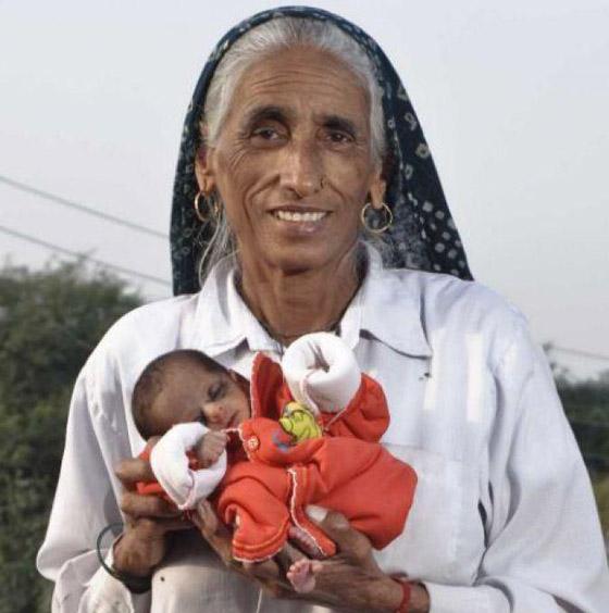 أمهات أنجبن أطفالهن فوق الـ60 عاما: أكبرهن هندية أنجبت في سن 72 صورة رقم 2