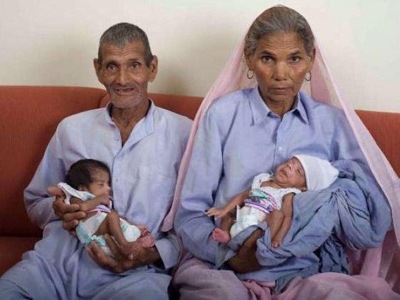أمهات أنجبن أطفالهن فوق الـ60 عاما: أكبرهن هندية أنجبت في سن 72 صورة رقم 6