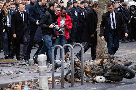 حركة السترات الصفراء تضيق الاحتجاجات على ماكرون: يعتقدون أننا حمقى! صورة رقم 22
