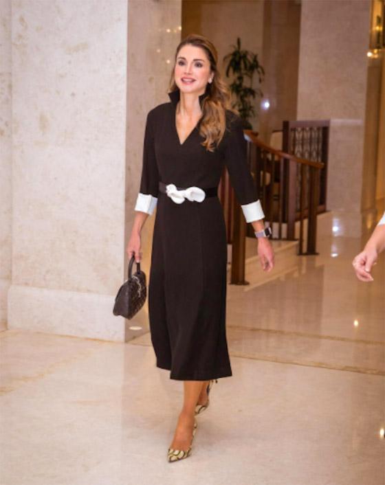 صور الملكة رانيا تتألق بأزياء مصممين عرب لتشجيع الابداع العربي صورة رقم 19