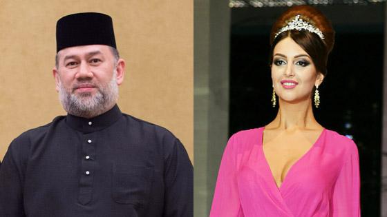 هل تسببت الحسناء الروسية في تخلي العاهل الماليزي عن العرش؟ صورة رقم 1