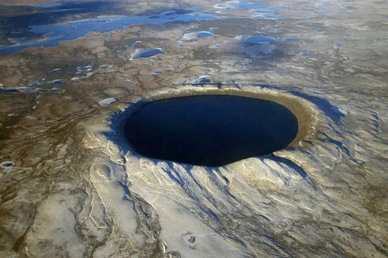 صور: أعمق 10 حفر في العالم ناتجة عن ارتطام النيازك بسطح الأرض صورة رقم 1
