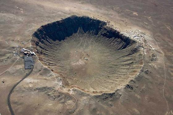 صور: أعمق 10 حفر في العالم ناتجة عن ارتطام النيازك بسطح الأرض صورة رقم 7