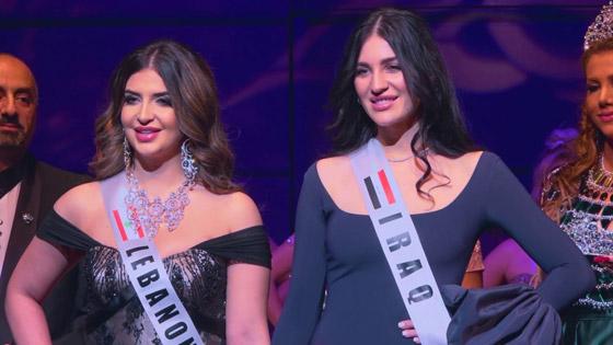 صور وفيديو: طالبة طب عراقية تفوز بتاج ملكة جمال العرب بأميركا صورة رقم 6