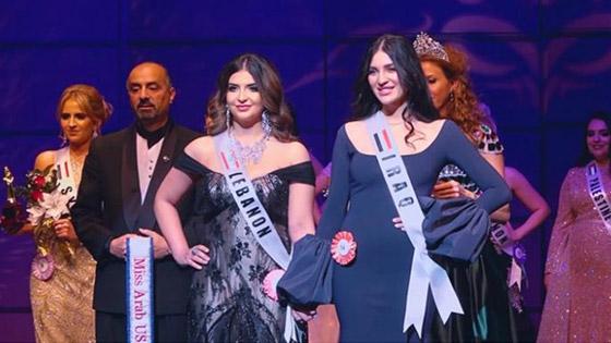 صور وفيديو: طالبة طب عراقية تفوز بتاج ملكة جمال العرب بأميركا صورة رقم 9